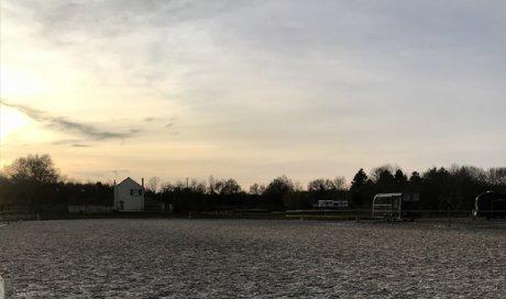 Carrière dressage - centre équestre Angers